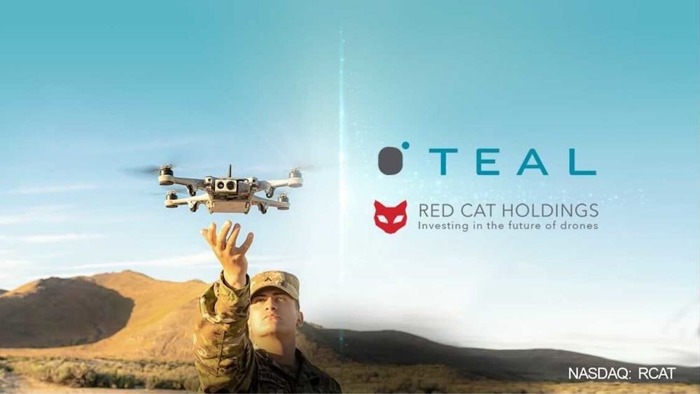 Teal Drones acquired Red Cat Holdings