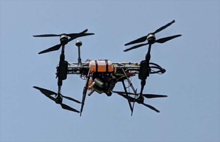 Offshore Aviation dragonfly drone